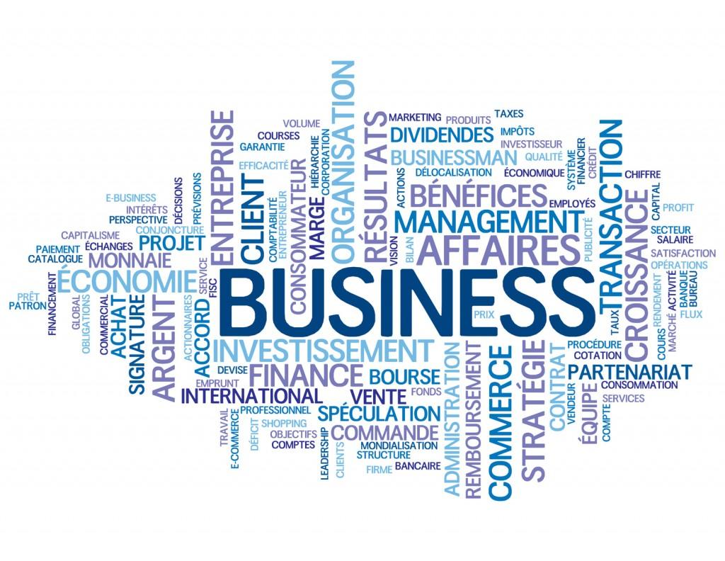 Nuage de Tags BUSINESS (affaires argent commerce vente finance)