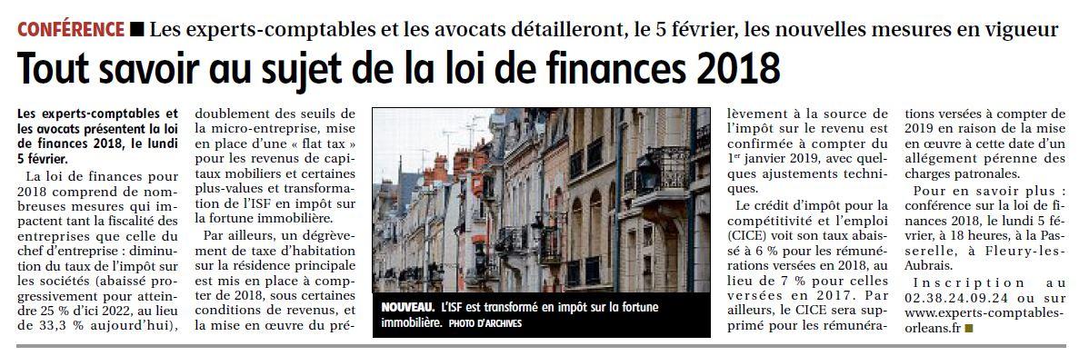 loi de finances 45