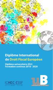 di droit fiscal europpeen